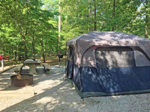 Camping during coronavirus